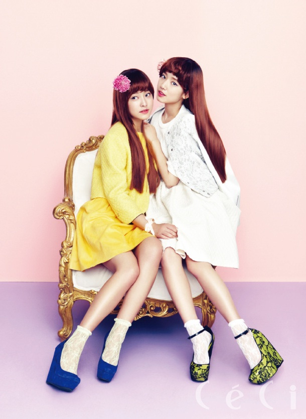 Park Shin Hye and Park Se Young – Ceci Feb 2013 – the ...