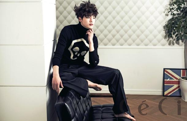 Lee Jong Suk – Ceci March 2013 – the talking cupboard