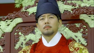 Gwanghaegun in Goddess of Fire, Jung Yi