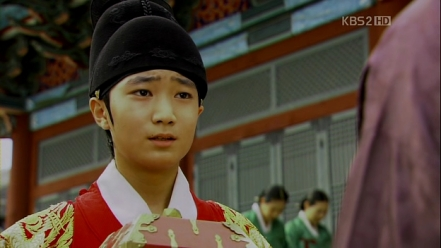 Danjong in the drama The Princess' Man