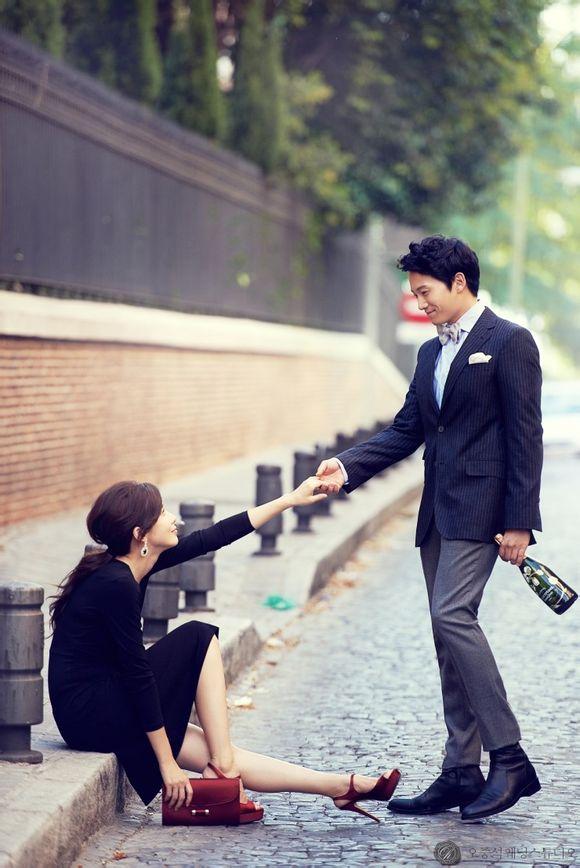 ji sung  u2013 lee bo young u2019s wedding pictorial  u2013 the talking