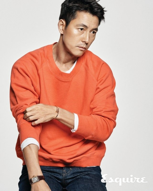 Ji Jin Hee And Jung Woo Sung For Esquire